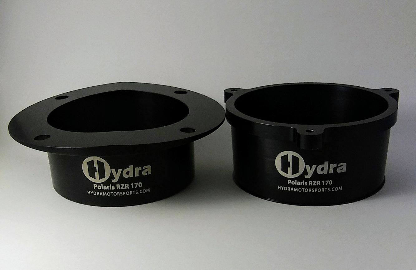Polaris RZR 170 Cooling Fan Adapter Set - Hydra Motorsports