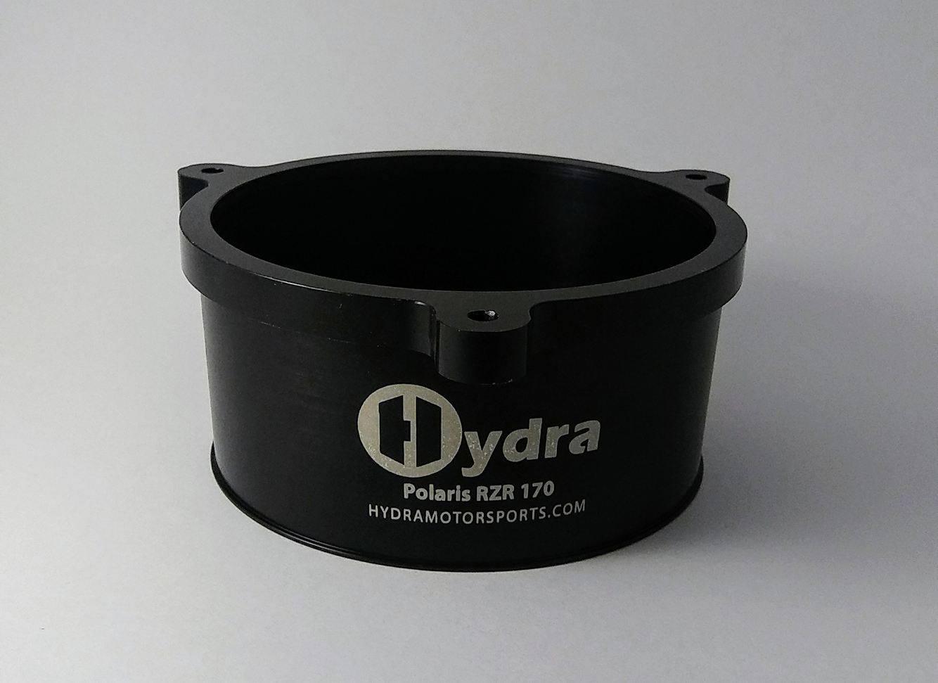 Polaris RZR 170 Cooling Fan Adapter  Fan shroud side - Hydra Motorsports